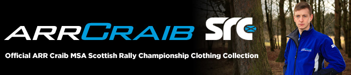 Official ARR Craib MSA Scottish Rally Championship Clothing Collection
